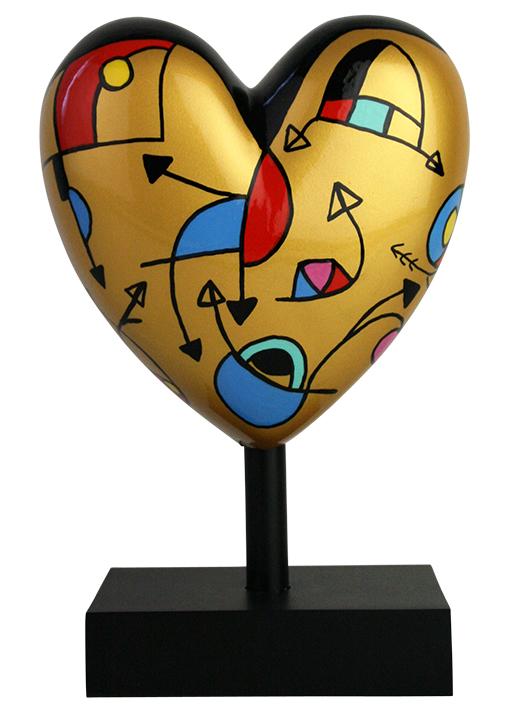 Missive Heart sculpture